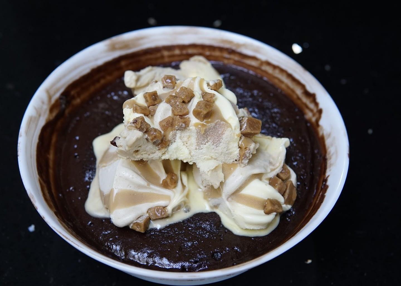 Nutella Mug Cake in 70 Seconds