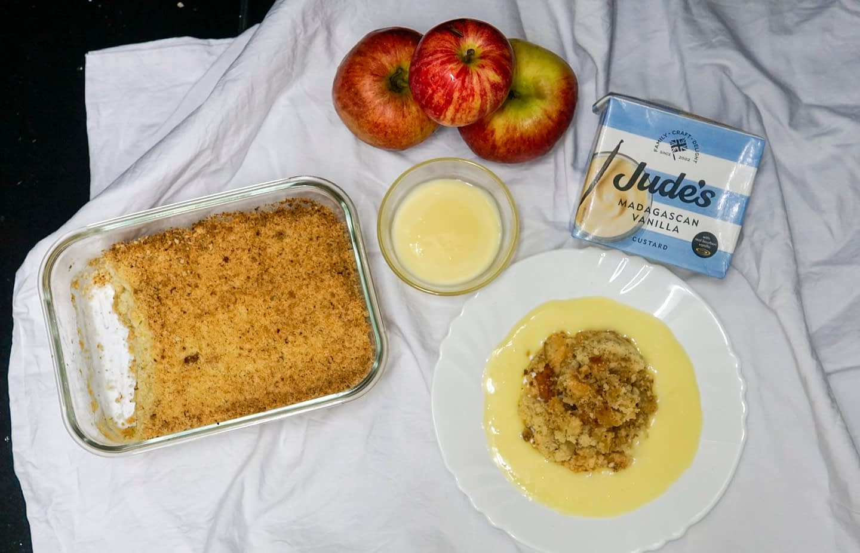Apple Crumble – Homemade Recipe