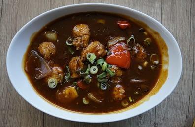 Yummy Chicken Manchurian